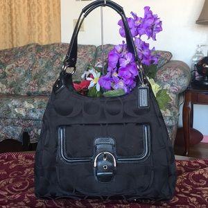 Coach Campbell signature Handbag